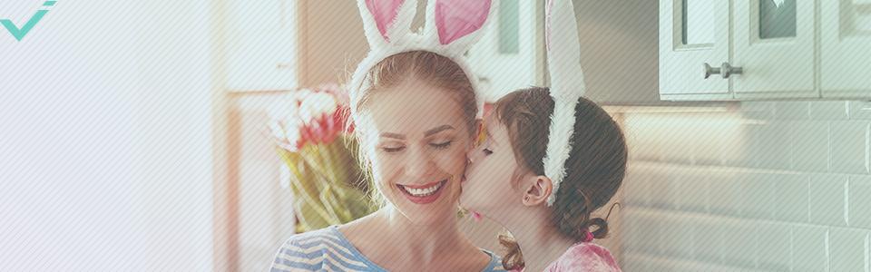 Im Vereinigten Königreich ist Ostern ein riesiger Feiertag.