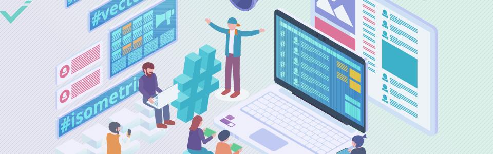 Verwenden Sie Hashtags mit direktem Bezug zu Ihrem Unternehmen und Ihrem Content.