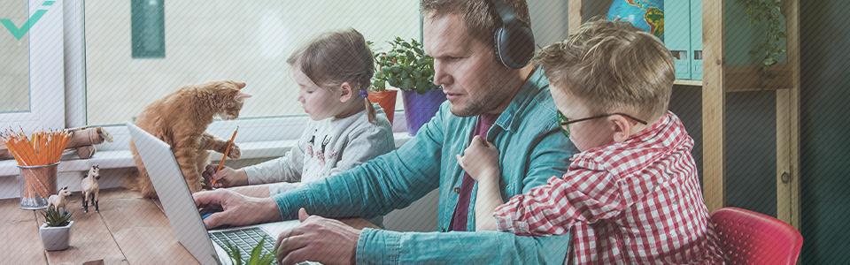 Chi soffre di burnout da lavoro a casa?